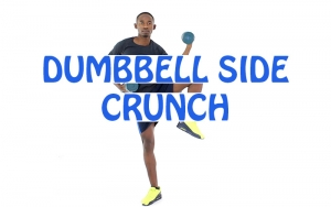 How to do Dumbbell Side Crunch
