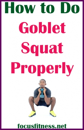 In this article, you will discover how to perform goblet squats and the mistakes you should avoid while performing this exercise #goblet #squat #exercise #focusfitness