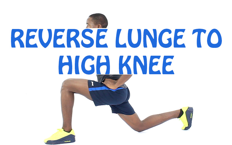 How to do Reverse Lunge to High Knee