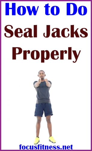 In this article, you will discover how to perform seal jacks, one of the effective cardio exercises you can do at home without any equipment.  #seal #jacks #exercise #focusfitness