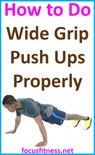 If you want to build your arm, shoulder, and chest muscles, this article will show you how to perform wide grip push-ups properly #wide #grip #Push #ups #focusfitness