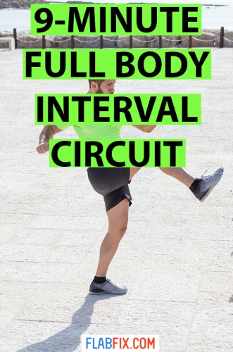 Use this interval circuit full body workout to transform your body into a fat burning machine #interval #circuit #workout #flabfix