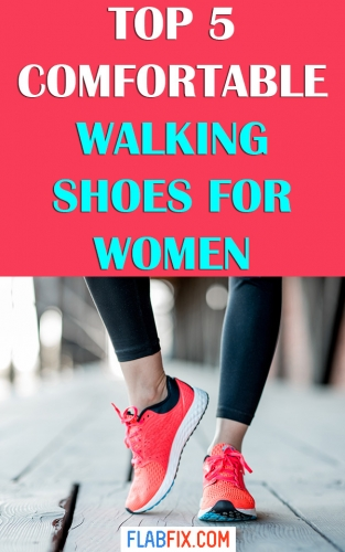 If you walk regularly, this article will show you the best walking shoes for women #walking #shoes #flabfix