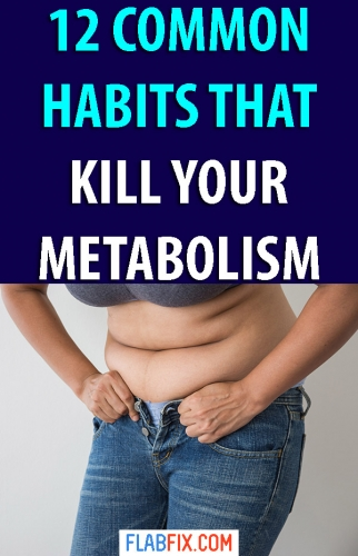 If you are struggling to lose weight, avoid the common habits that kill your metabolism #metabolism #habits #flabfix