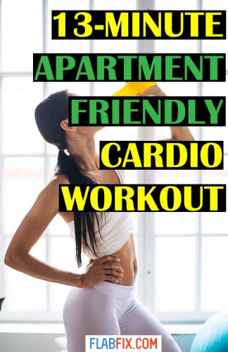 In this article, you will discover the 13 minute apartment friendly cardio workout #cardio #workout #apartment #flabfix