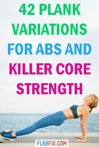 In this article, you will discover the best plank variations for abs and killer core strength #abs #core #plank #variations #flabfix