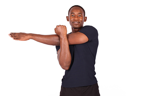 Cross Over Shoulder Stretch