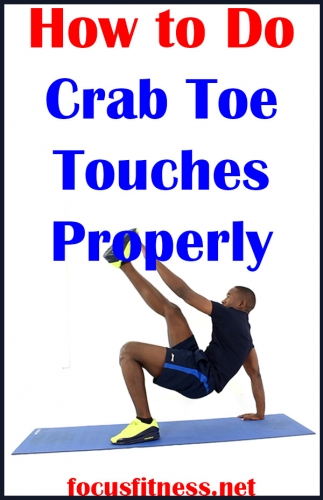 If you don't know how to perform crab toe touches, this article will show you how to perform crab toe touches and the mistakes to avoid #crab #toe #touches