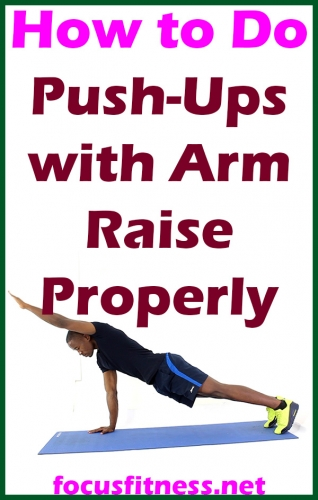 How to Do Push-Ups with Arm Raise