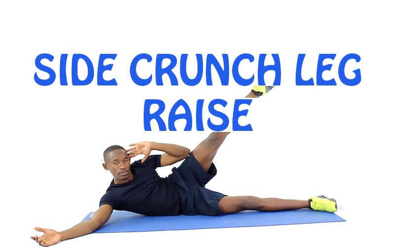 How to Do Side Crunch Leg Raise