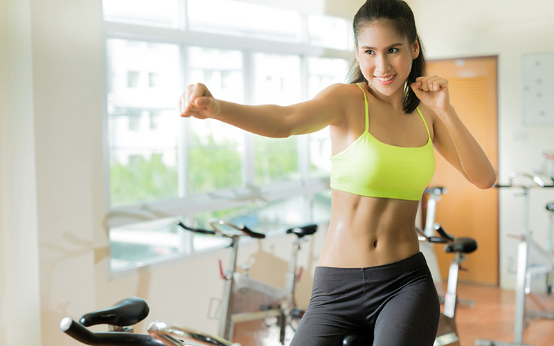 Secrets to losing belly fat when exercising at home
