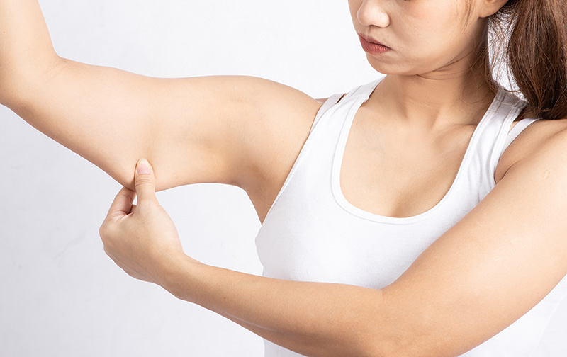 The best workout for flabby arms