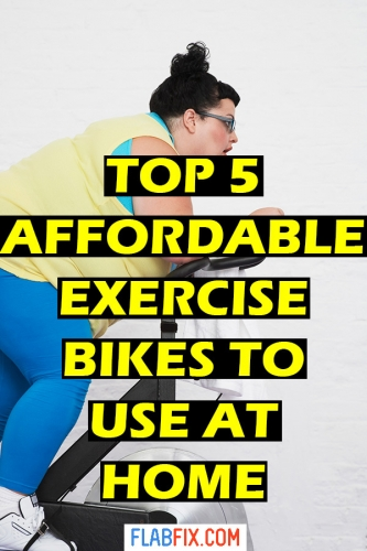 If you want to get fit at home, this article will show you the top 5 affordable exercise bikes to use at home #exercise #bikes #affordable #flabfix