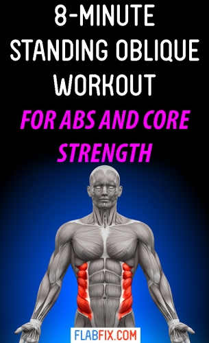 In this article, you will discover the best standing oblique workout for abs and core strength #abs #core #standing #oblique #workout #flabfix