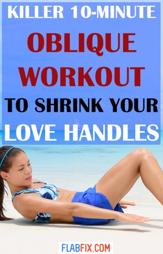In this article, you will discover the best oblique workout to shrink your love handles #love #handles #workout #flabfix