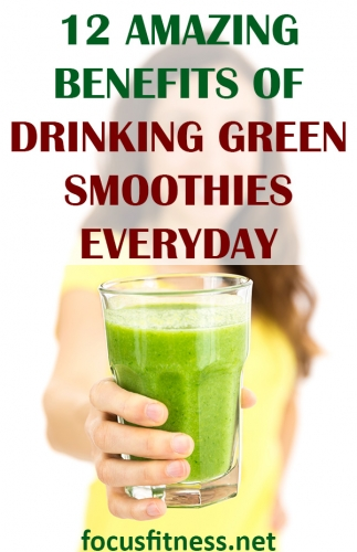 In this short article, you're going to discover the science-backed benefits of drinking green smothies everyday #green #smoothies #benefits #focusfitness