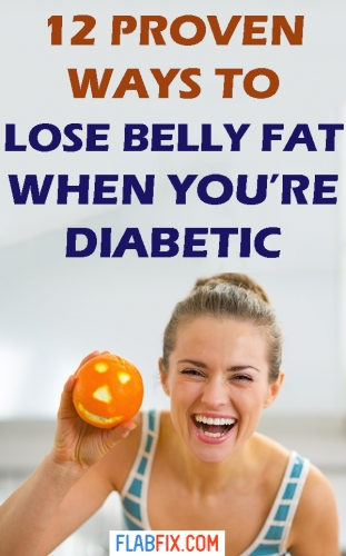 Read this article to discover how to lose belly fat when you're diabetic #lose #belly #fat #diabetic #flabfix