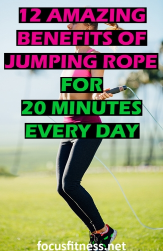 In this article, you will discover the amazing benefits of jumping rope for 20 minutes a day and the common mistakes you must avoid. #jumping #rope #benefits #focusfitness