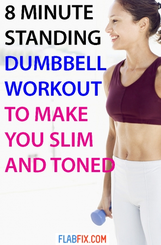 This article will show the standing dumbbell workout to make you slim and toned #standing #dumbbell #workout #slim #toned #flabfix