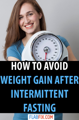 In this article, you will discover how to avoid weight gain after intermittent fasting #intermittent #fasting #flabfix