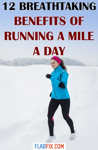 Read this article to discover the breathtaking benefits of running a mile a day #running #mile #benefits #flabfix