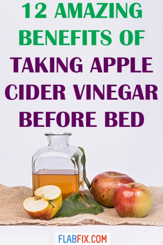 Read this article to discover the amazing benefits of taking apple cider vinegar before bed #apple #cider #vinegar #before #bed #flabfix