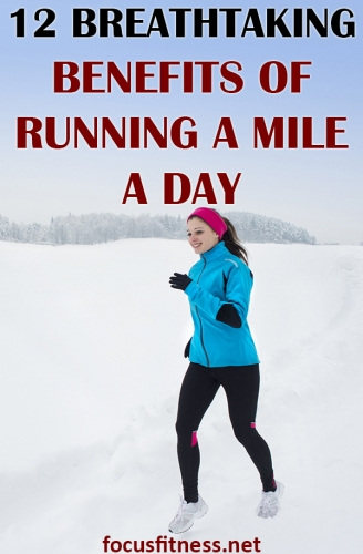 In this article, you will discover the breathtaking benefits of running a mile a day and how it can boost your health and lower risk of diseases #running #mile #day #focusfitness