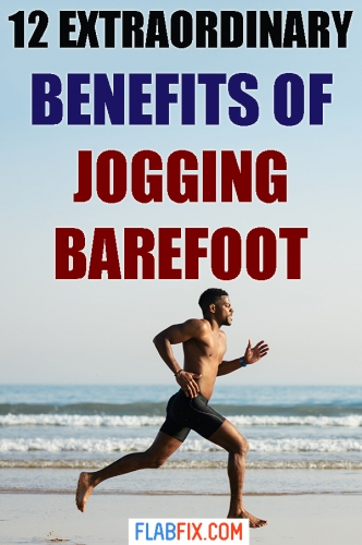 Read this article, to discover the extraordinary benefits you'll enjoy when you start running barefoot #running #jogging #barefoot #flabfix