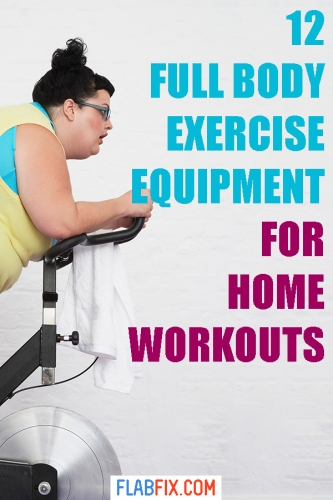 If you want to get fit while exercising at home, this article will show you the best full body workout equipment to use #full #body #exercise #equipment #flabfix