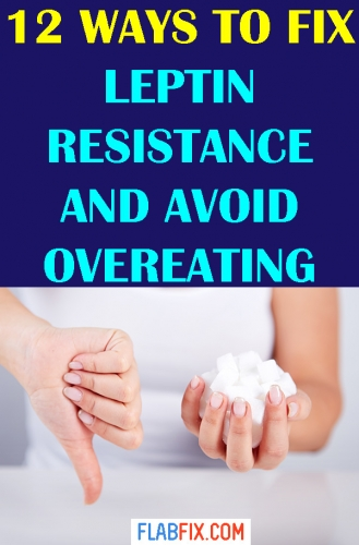 The tips in this article will show you how to avoid overeating by fixing leptin resistance #leptin #resistance #overeating #flabfix