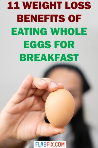 In this article, you will discover the weight loss benefits of eating whole eggs for breakfast #whole #eggs #breakfast #flabfix