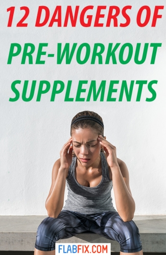 Read this article to discover the little-known danger of pre-workout supplements #preworkout #supplements #dangers #flabfix
