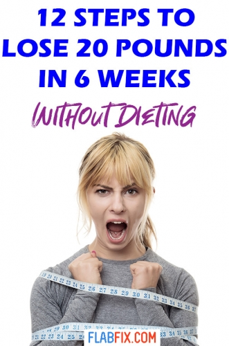 In this article you will discover the simple steps you can follow to lose 20 pounds in 6 weeks without dieting #20pounds #weightloss #dieting