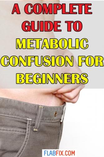 metabolism confusion diet plan