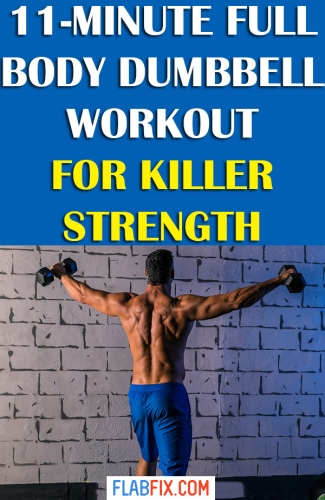 In this article, you will discover the full body dumbbell workout for killer strength #full #Body #workout #dumbbell #flabfix