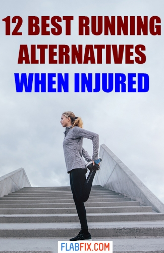 If you have an injury, use these running alternatives to stay in shape #running #alternatives #injured #flabfix