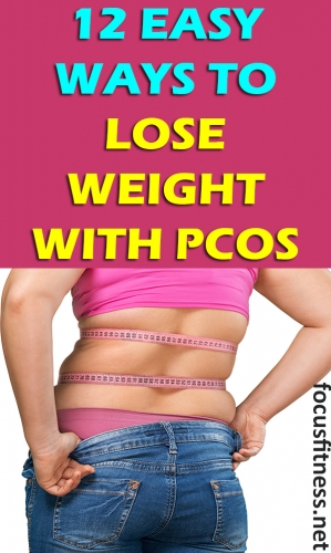 If PCOS has been keeping you from losing weight, this article will show you how to lose weight with PCOS without medication. #PCOS #weightloss #focusfitness