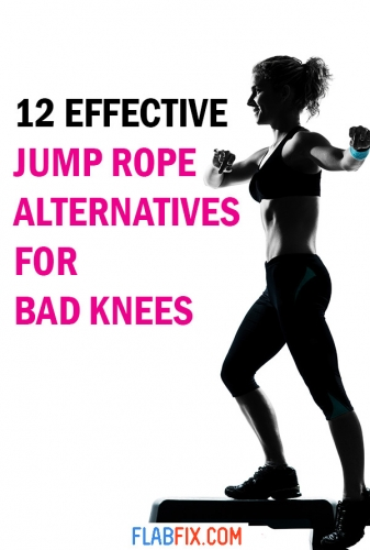 In this article, you will discover the effective jump rope alternatives for bad knees #jump #rope #bad #knees #flabfix