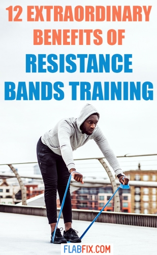 In this article, you will discover the extraordinary benefits of resistance bands training #resistance #bands #flabfix