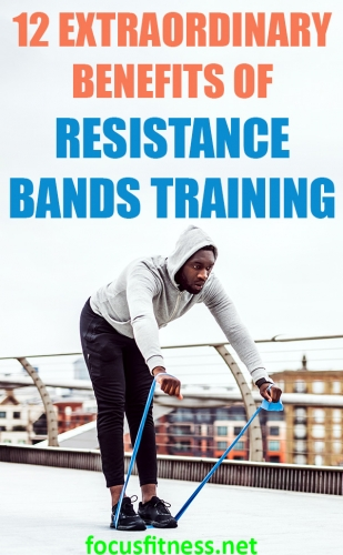 In this article, you will discover the extraordinary benefits of resistance bands and how you can use them to become fitter and stronger. #resistance #bands #training #benefits #focusfitness