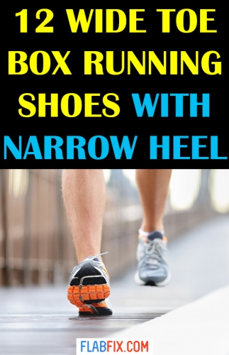 12 Wide Toe Box Running Shoes with