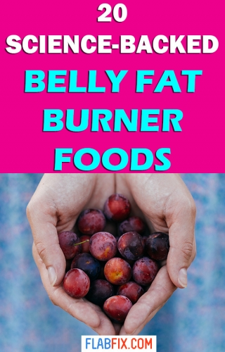 This article will show you science backed belly fat burner foods to add to your diet #fat #burner #foods #flabfix