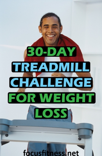 If you want to lose weight while walking or running on the treadmill, then you must try this 30-day treadmill challenge for weight loss. #treadmill #challenge #weightloss #focusfitness