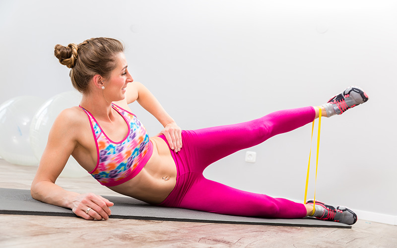 Benefits of resistance bands training