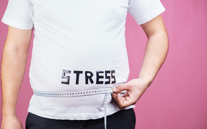 Signs You're Gaining Weight Because of Stress
