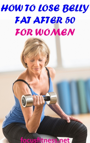 If you're a woman who wants a flat stomach after 50, this article will show you how to lose belly fat after 50 for women. #lose #belly #fat #after50