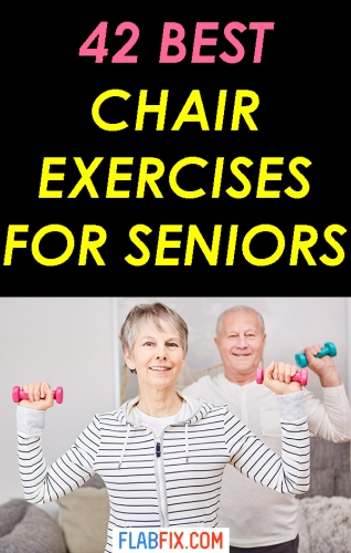 If you're a senior, this article will show you the best chair exercises for seniors #chair #exercises #senior #flabfix