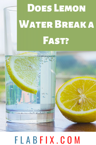 Does Lemon Water Break a Fast?