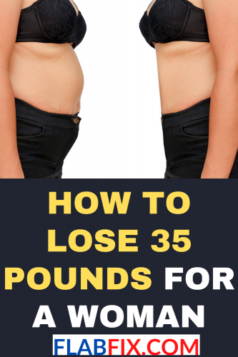 How To Lose 35 Pounds For A Woman