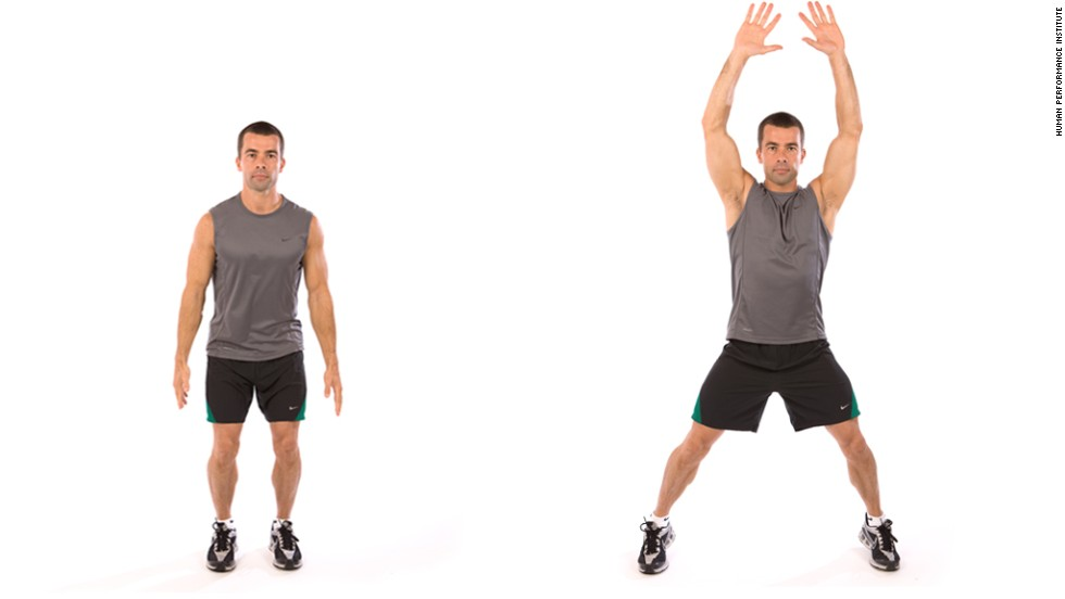 how many jumping jacks to burn 100 calories
